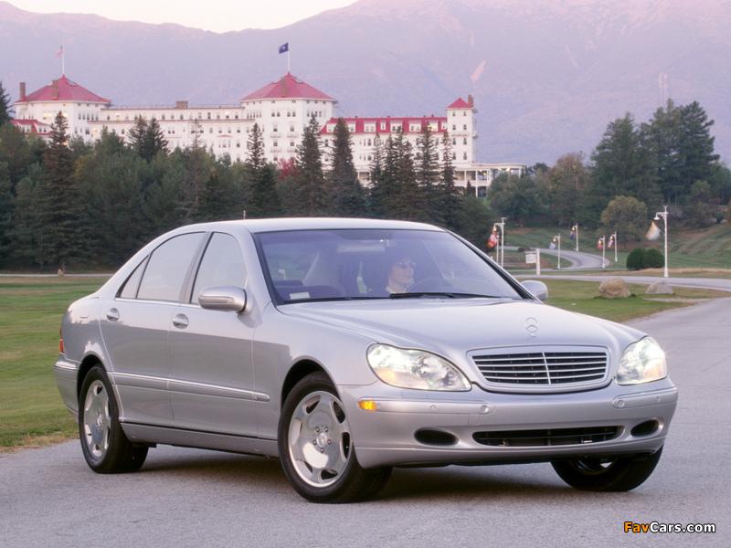 Mercedes-Benz S 600 US-spec (W220) 2002–05 images (800 x 600)