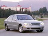Mercedes-Benz S 600 US-spec (W220) 2002–05 images