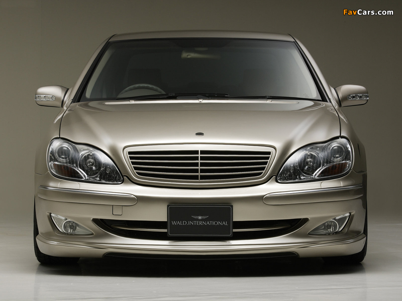 WALD S 5.8 (W220) 2002–05 images (800 x 600)