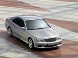 Mercedes-Benz S 55 AMG (W220) 2002–05 images