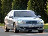 Mercedes-Benz S 500 4MATIC (W220) 2002–06 photos