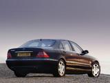Mercedes-Benz S 600 UK-spec (W220) 2002–05 photos