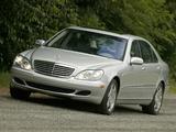 Mercedes-Benz S 600 US-spec (W220) 2002–05 pictures