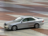 Mercedes-Benz S 55 AMG (W220) 2002–05 pictures