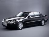 Mercedes-Benz S-Klasse Guard (W220) 2002–05 pictures