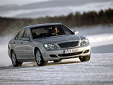 Mercedes-Benz S 500 4MATIC (W220) 2002–06 pictures
