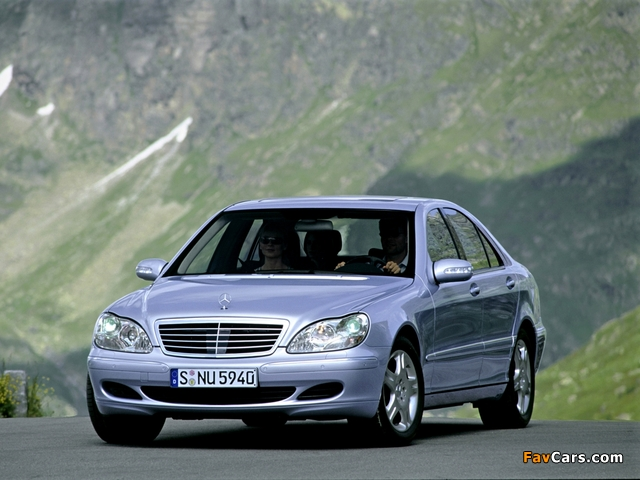 Mercedes-Benz S 500 4MATIC (W220) 2002–06 pictures (640 x 480)
