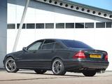 Mercedes-Benz S 65 AMG UK-spec (W220) 2004–05 photos