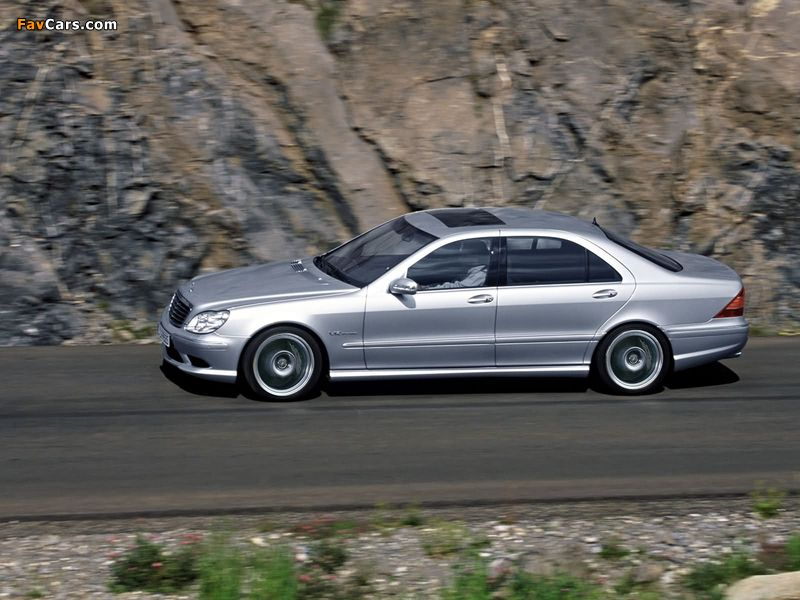 Mercedes-Benz S 65 AMG (W220) 2004–05 wallpapers (800 x 600)