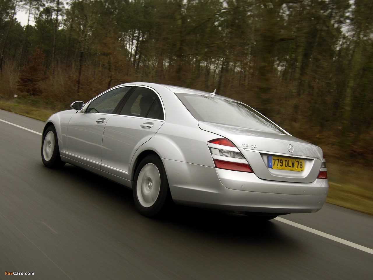 Mercedes-Benz S 350 (W221) 2005–09 images (1280 x 960)