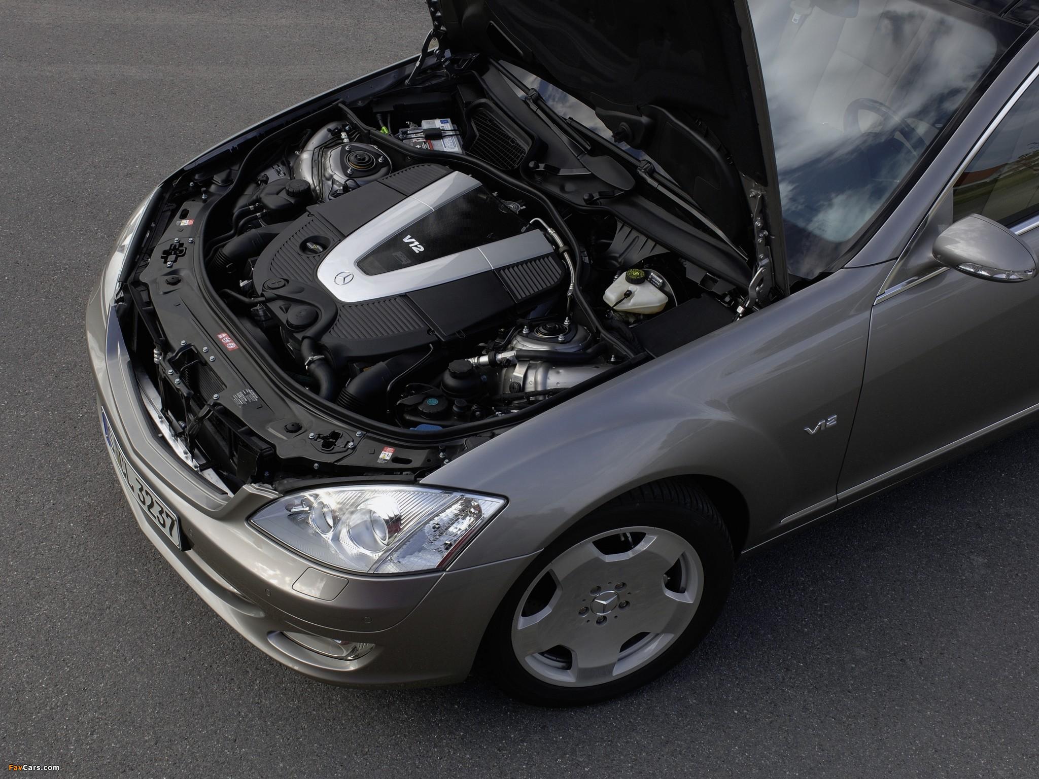 Mercedes-Benz S 600 (W221) 2005–09 images (2048 x 1536)
