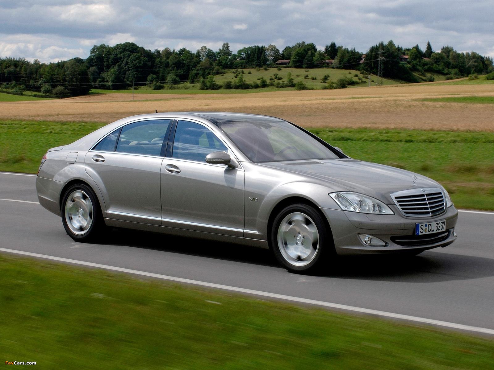 Mercedes-Benz S 600 (W221) 2005–09 photos (1600 x 1200)