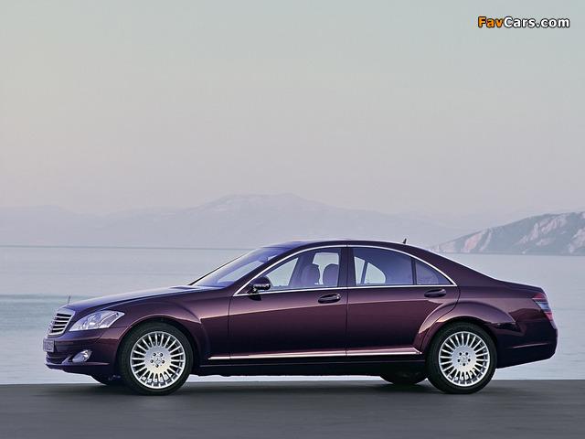 Mercedes-Benz S 350 (W221) 2005–09 photos (640 x 480)