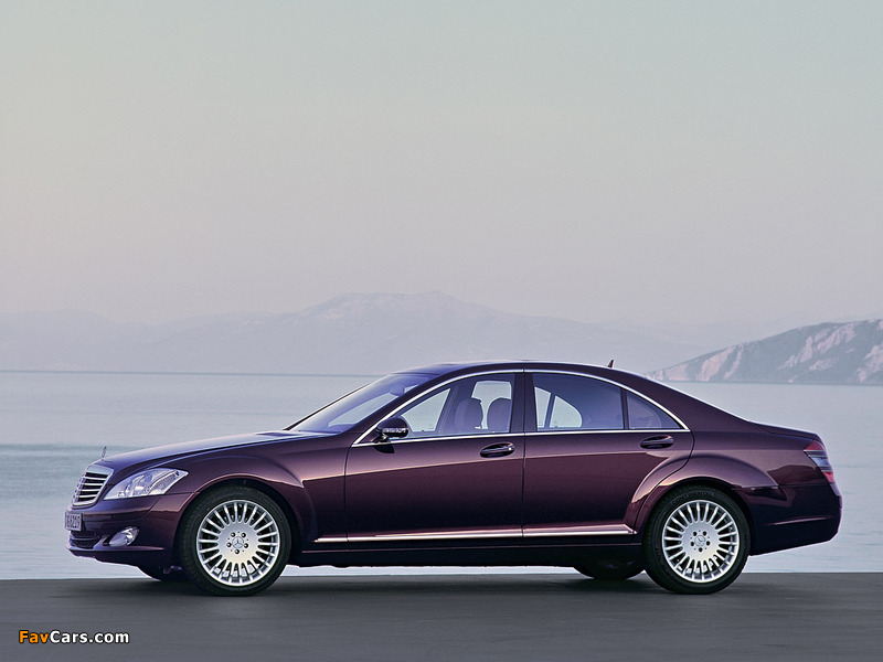 Mercedes-Benz S 350 (W221) 2005–09 photos (800 x 600)