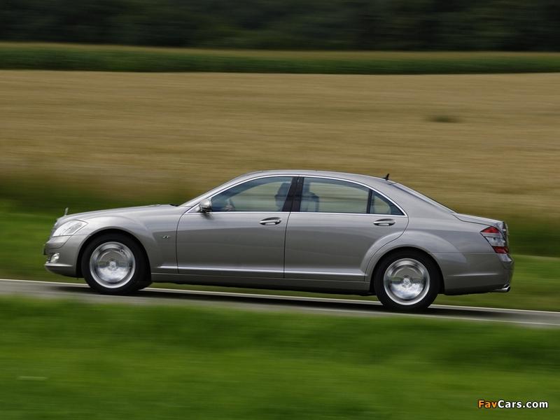 Mercedes-Benz S 600 (W221) 2005–09 pictures (800 x 600)
