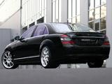 Brabus Mercedes-Benz S-Klasse (W221) 2005–09 pictures