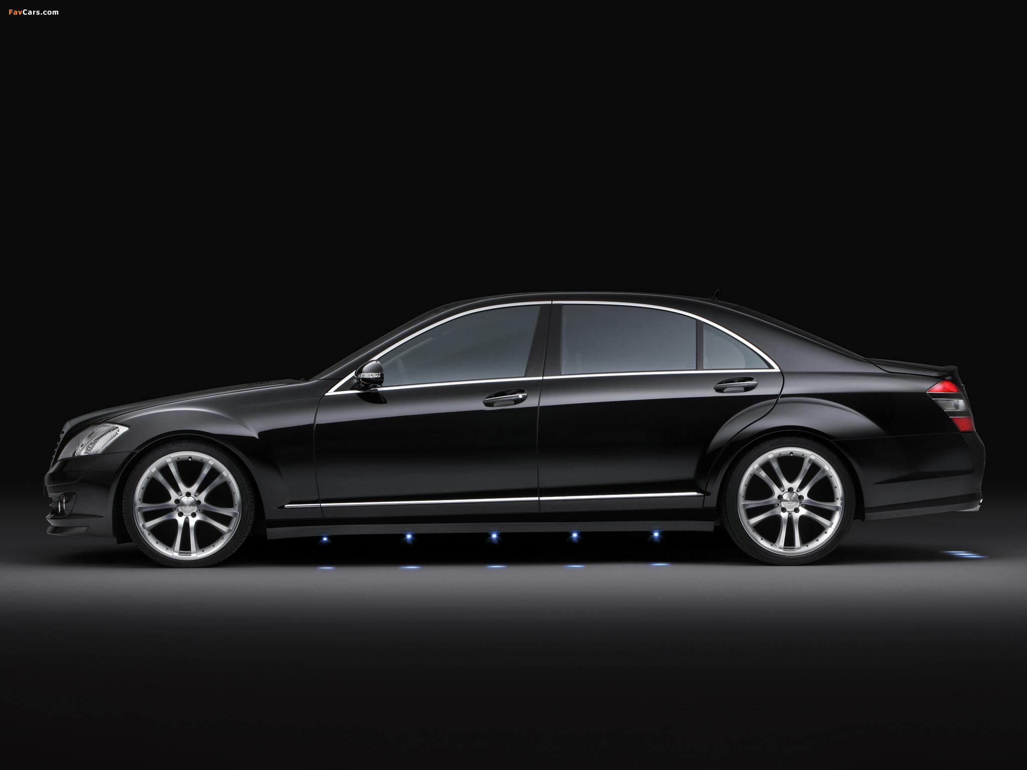 Brabus Mercedes-Benz S-Klasse (W221) 2005–09 wallpapers (2048 x 1536)