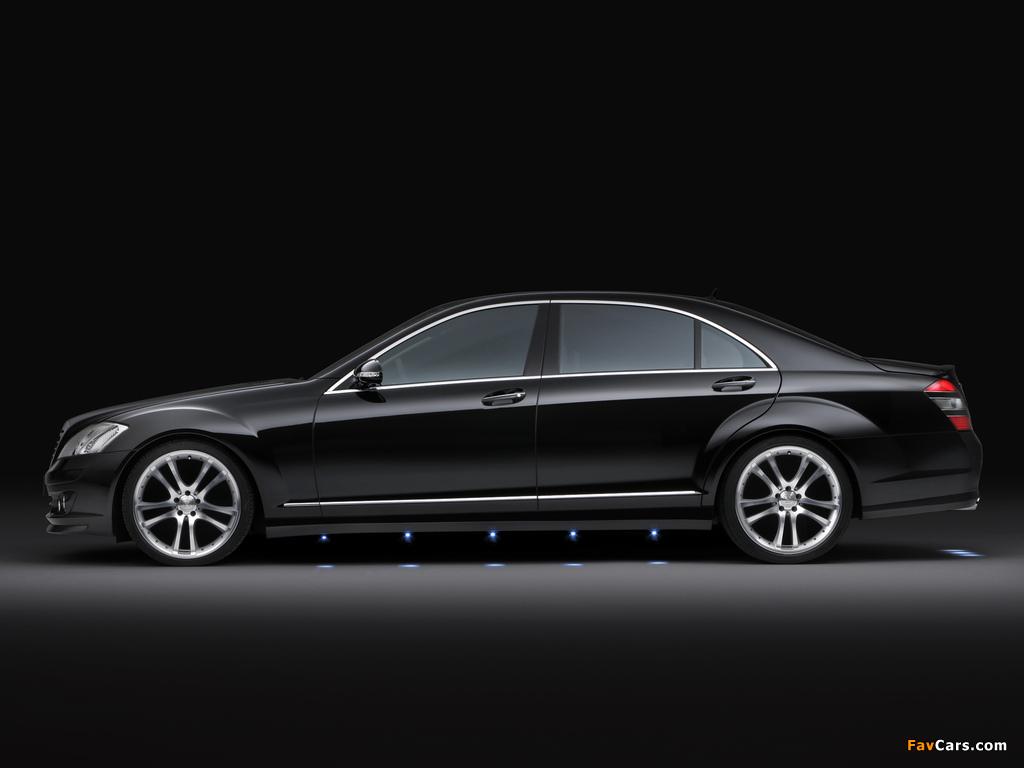 Brabus Mercedes-Benz S-Klasse (W221) 2005–09 wallpapers (1024 x 768)