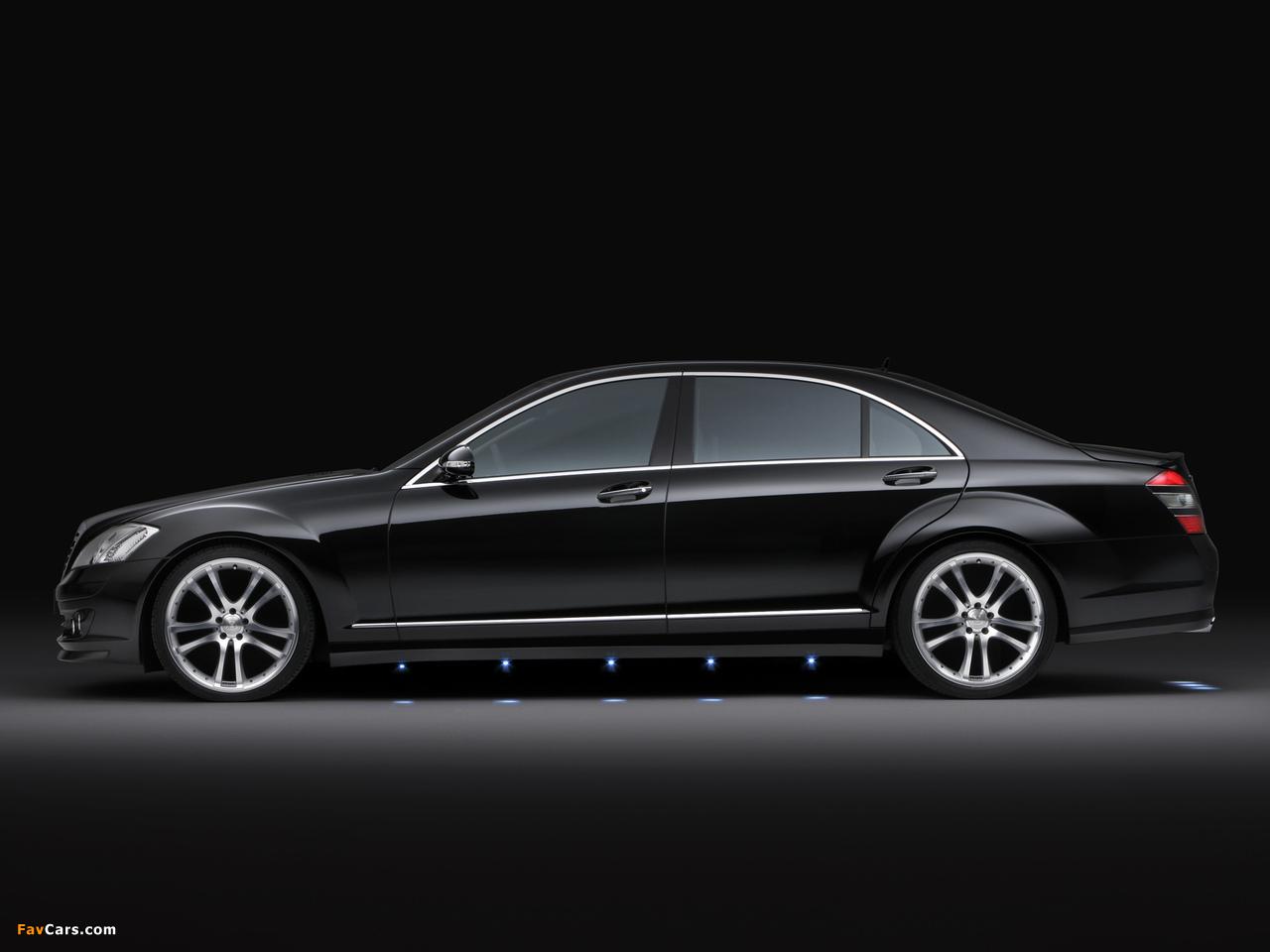 Brabus Mercedes-Benz S-Klasse (W221) 2005–09 wallpapers (1280 x 960)
