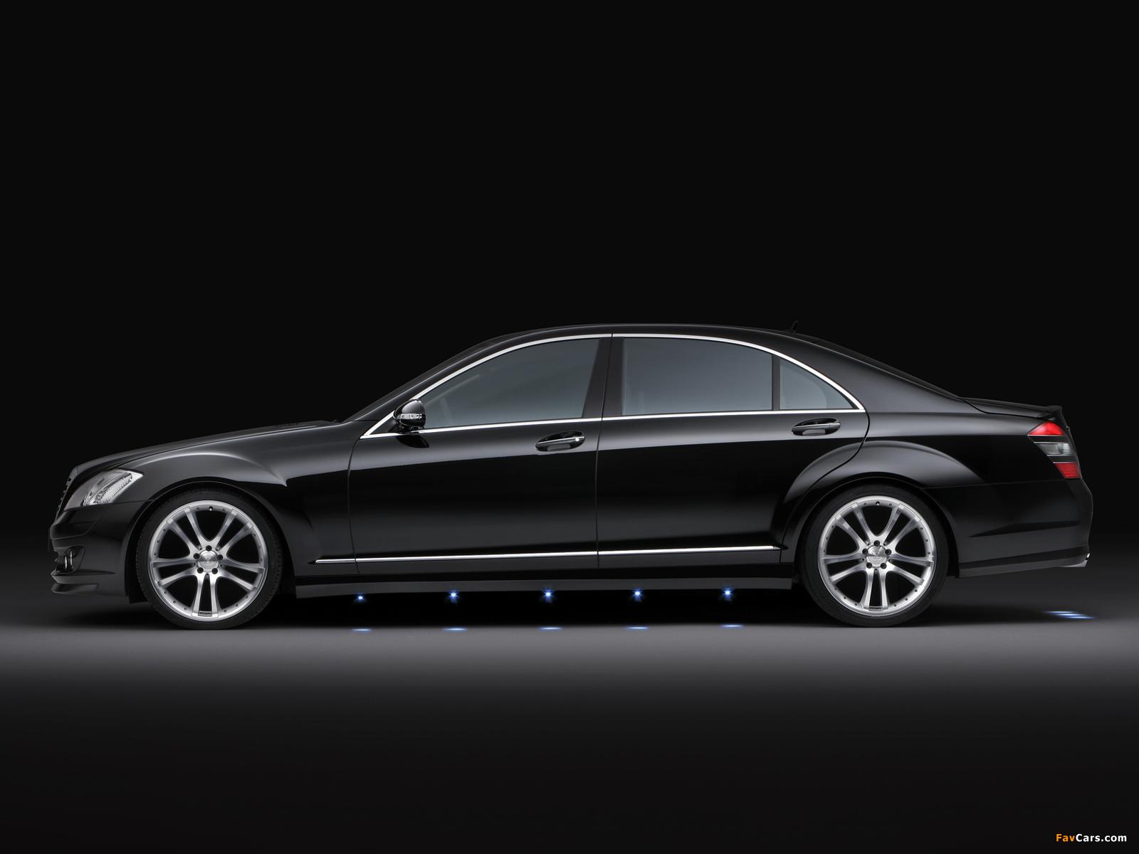 Brabus Mercedes-Benz S-Klasse (W221) 2005–09 wallpapers (1600 x 1200)