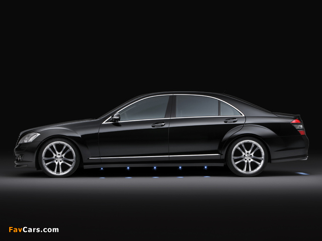 Brabus Mercedes-Benz S-Klasse (W221) 2005–09 wallpapers (640 x 480)