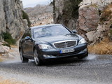 Mercedes-Benz S 500 4MATIC (W221) 2006–09 images