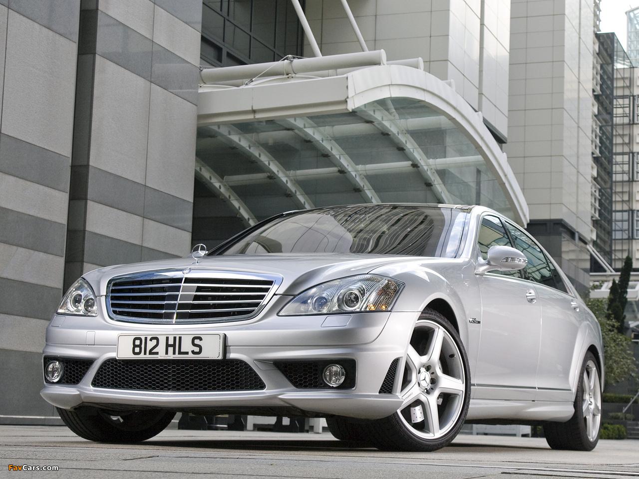 Mercedes-Benz S 63 AMG UK-spec (W221) 2006–09 images (1280 x 960)