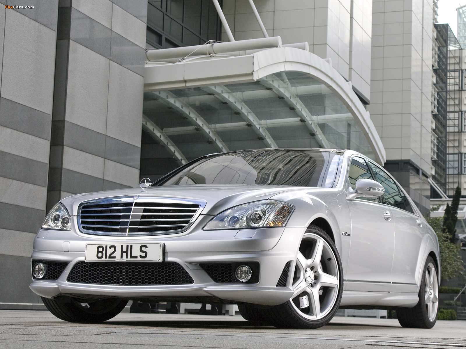 Mercedes-Benz S 63 AMG UK-spec (W221) 2006–09 images (1600 x 1200)