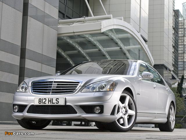 Mercedes-Benz S 63 AMG UK-spec (W221) 2006–09 images (640 x 480)