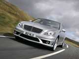 Mercedes-Benz S 63 AMG UK-spec (W221) 2006–09 images