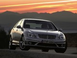Mercedes-Benz S 65 AMG (W221) 2006–09 wallpapers