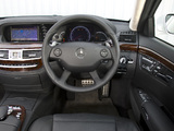 Mercedes-Benz S 63 AMG UK-spec (W221) 2006–09 wallpapers