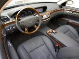 Mercedes-Benz S 600 US-spec (W221) 2006–09 wallpapers