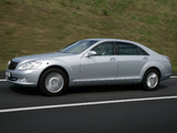 Mercedes-Benz S 600 Guard (W221) 2007–09 images