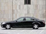 Mercedes-Benz S 600 Guard (W221) 2007–09 wallpapers