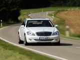 Mercedes-Benz S 320 CDI BlueEfficiency (W221) 2008–09 pictures