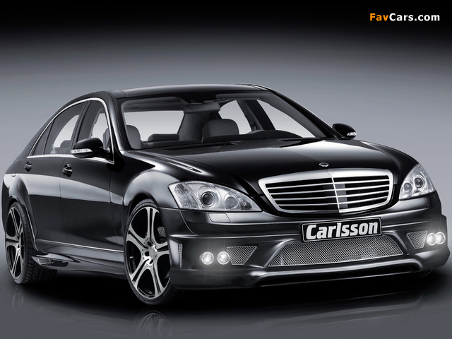 Carlsson Noble CK 65 RS (W221) 2008–09 pictures (640 x 480)
