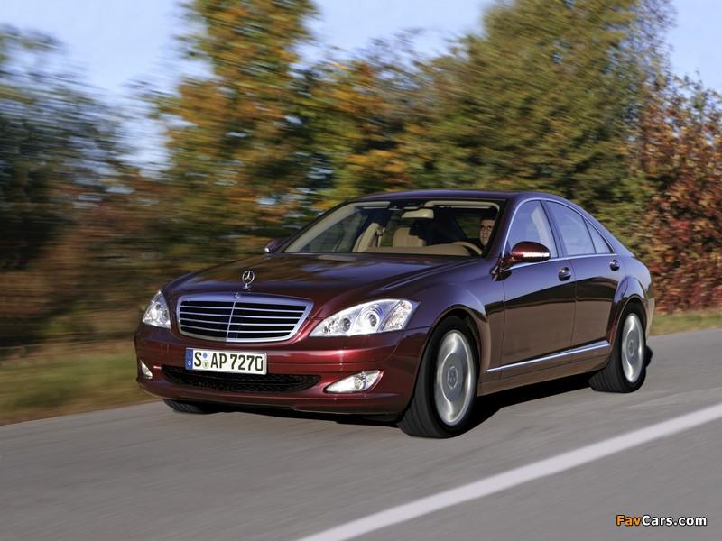Mercedes-Benz S 320 CDI BlueEfficiency (W221) 2008–09 wallpapers (800 x 600)
