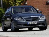 Mercedes-Benz S 550 (W221) 2009–13 images