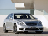 Mercedes-Benz S 63 AMG (W221) 2009–10 images