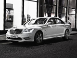 Mercedes-Benz S 350 CDI AMG Sports Package UK-spec (W221) 2009–13 images