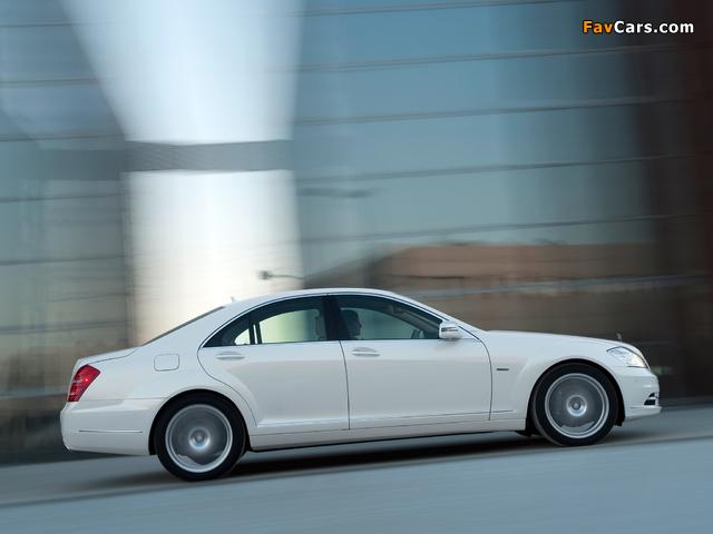 Mercedes-Benz S 400 Hybrid (W221) 2009–13 images (640 x 480)
