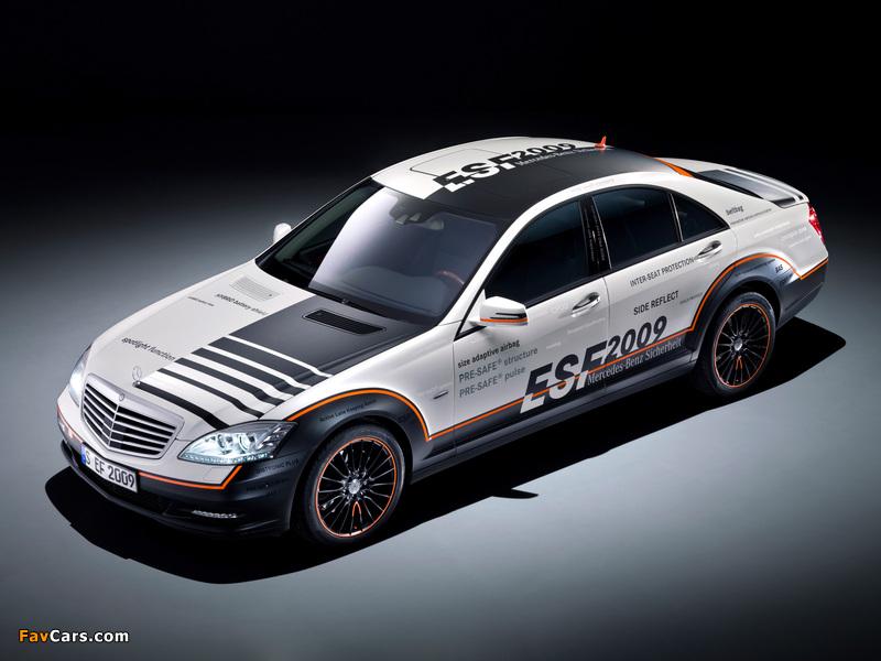 Mercedes-Benz S 400 Hybrid ESF Concept (W221) 2009 images (800 x 600)