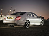 Mercedes-Benz S 350 CDI AMG Sports Package UK-spec (W221) 2009–13 photos