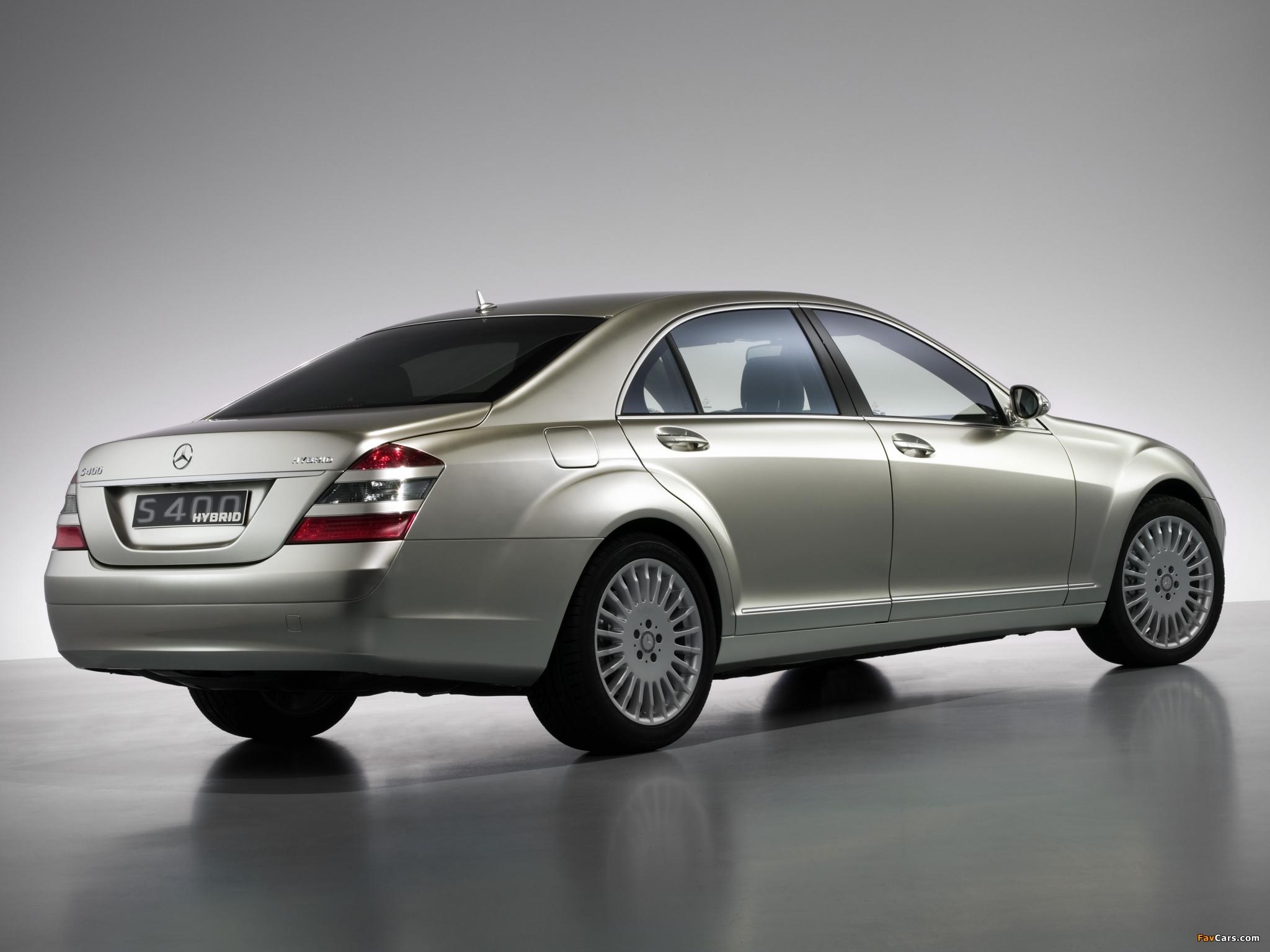 Mercedes-Benz S 400 Hybrid Concept (W221) 2009 photos (2048 x 1536)
