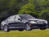 Mercedes-Benz S 600 US-spec (W221) 2009–13 photos