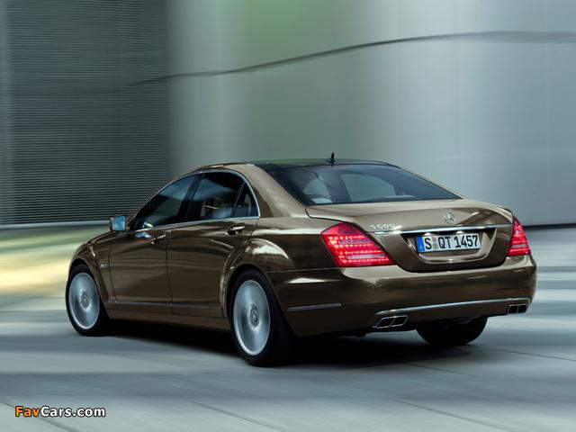 Mercedes-Benz S 600 (W221) 2009–13 pictures (640 x 480)