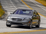 Mercedes-Benz S 550 (W221) 2009–13 pictures