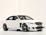Brabus S V12 R (W221) 2009–13 pictures