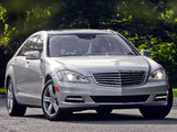 Mercedes-Benz S 400 Hybrid US-spec (W221) 2009–13 pictures